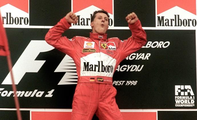 Schumacher ferrari formula 1 (Foto: Getty Images)
