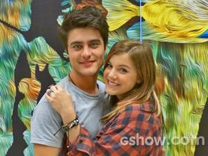 Guilherme Leicam e Alice Wegmann fizeram o casal Vitor e Lia em Malhação (Foto: Malhação/ TV Globo)