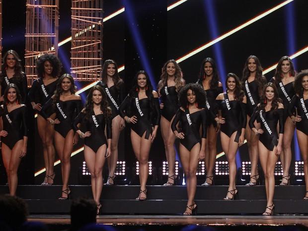 Candidatas do Miss Brasil 2016 (Foto: Celso Tavares / EGO)