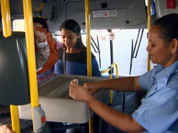 Assaltos a ônibus preocupam em Rio Claro (Foto: Cesar Fontenele/EPTV)