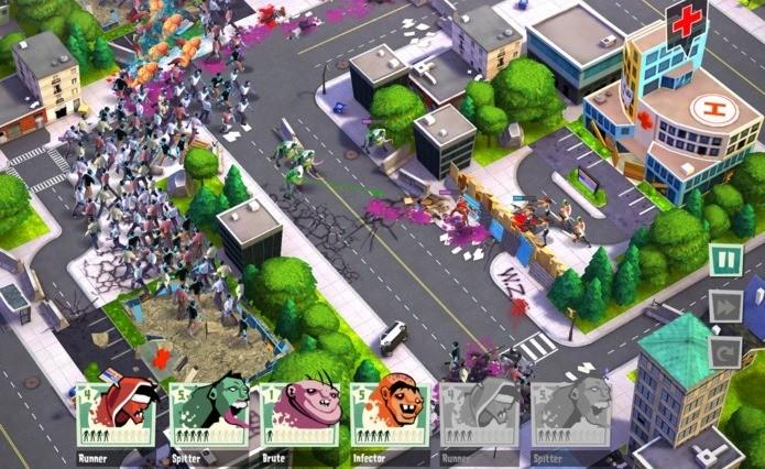 Game de estratégia com zumbis se destaca pelo bom humor e visual colorido (Foto: Divulgação)