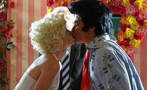Para surpresa de todos, Amaralina e Rodrigo se casam em Las Vegas (Flor do Caribe/TV Globo)