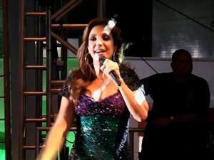 Ivete Sangalo (Foto: TV Verdes Mares/Reprodução)