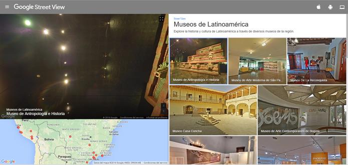 Google lança coleção com 130 museus no Street View (Foto: Reprodução/Barbara Mannara)