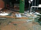 Assaltantes explodem caixa eletrônico e destroem cooperativa em MT