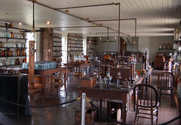 O laboratório em Menlo Park (Foto: Reprodução)