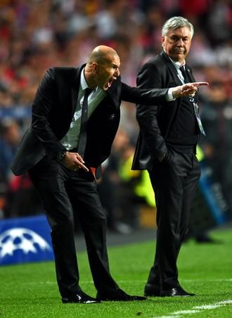 Ancelotti Zidane Real Madrid 2014 (Foto: Getty Images)
