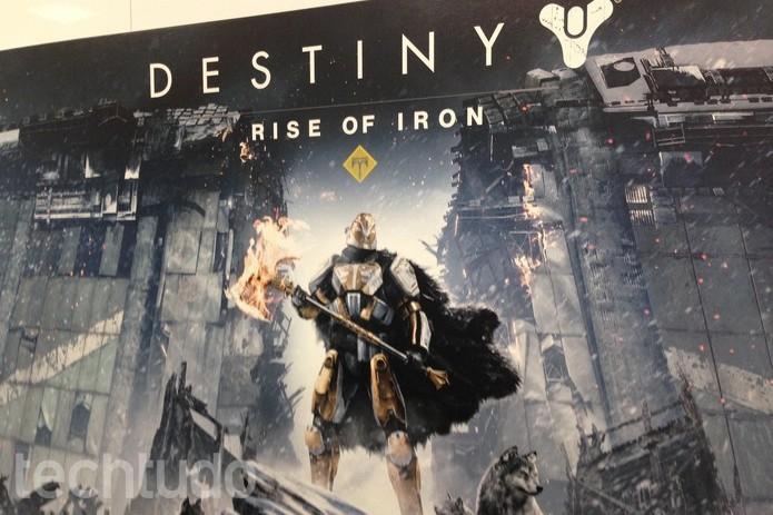 Rise of Iron é a nova expansão de Destiny (Foto: Felipe Vinha/TechTudo)