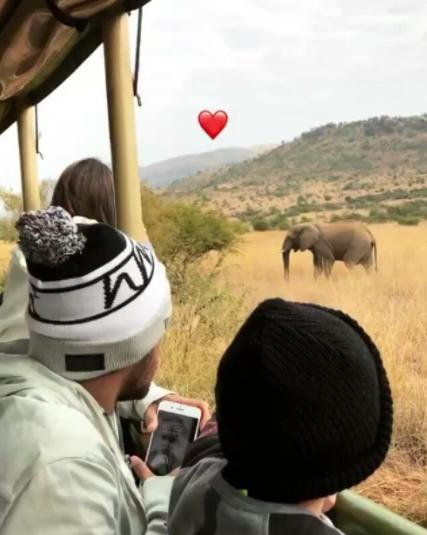 Neymar curte viagem com o filho (Foto: Instagram/Reprodução)