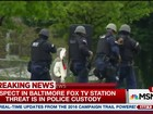 Homem que ameaçava explodir emissora de TV nos EUA é baleado