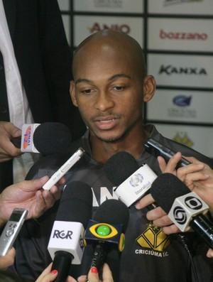 Tartá, meia-atacante do Criciúma (Foto: Fernando Ribeiro / Criciúma EC)