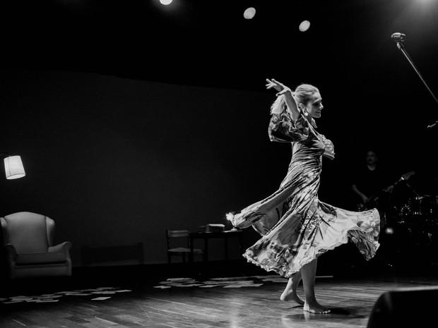 Letícia Spiller no show Não Deveria se Chamar (Foto: Frederic Jean Laouenan e Evelin Santos)
