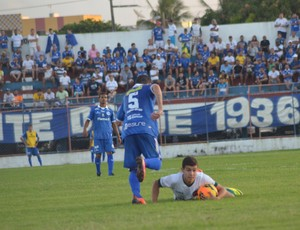 Time proletário dominou a partida (Foto: Felipe Martins)