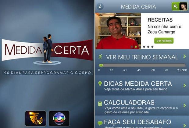 aplicativos_medida_Certa (Foto: Divulgação)