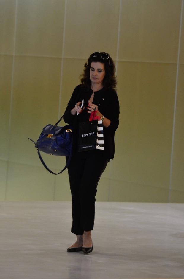 Fátima Bernardes (Foto: Henrique Oliveira/ AgNews)