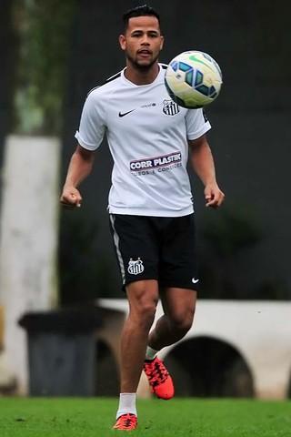 Geuvânio é relacionado por Dorival após mais de 40 dias sem atuar pelo Santos (Foto: Ivan Storti/Santos FC)