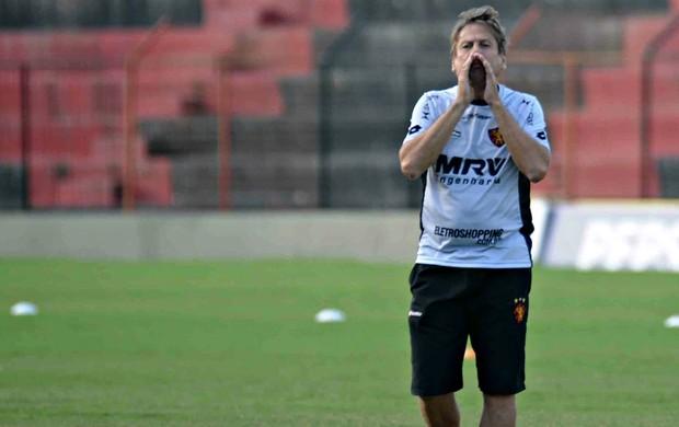 Waldemar Lemos - Sport (Foto: Aldo Carneiro/Pernambuco Press)