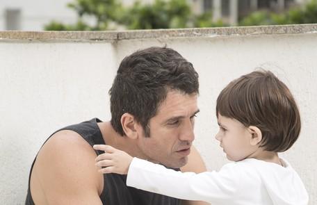 Eriberto Leão e o filho João Leo Martins