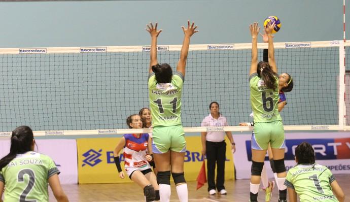 Roraima recuperou-se da derrota para a Bahia na primeira rodada (Foto: Divulgação/Confederação Brasileira de Vôlei)