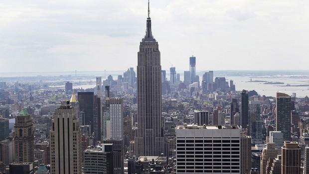 Vista do Empire State Building, em imagem de arquivo (Foto: Reuters)