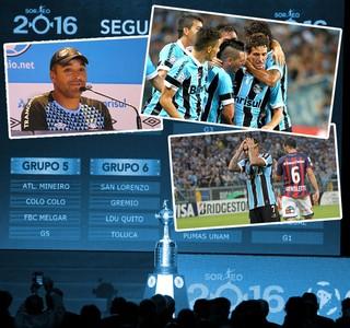 Carrossel - Grêmio - Libertadores (Foto: Arte / GloboEsporte.com)