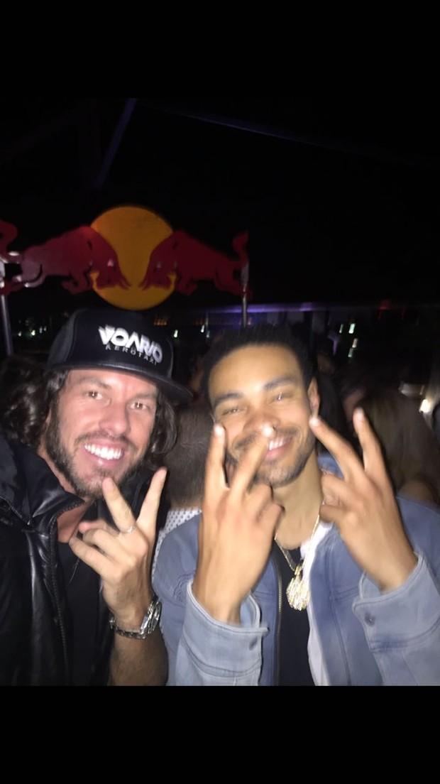 Diego Aguiar e Rudy Mancuso (Foto: Reprodução/ Instagram)