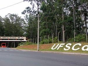 UFSCar São Carlos (Foto: Fábio Rodrigues/ G1)