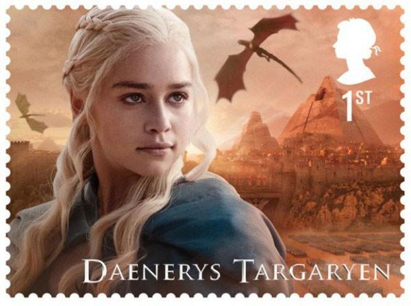 'Game of Thrones' ganha coleção de selos do correio britânico (Foto: Divulgação)
