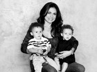 Filho de Rosana Jatobá  tem alta: 'Superou uma situação extrema'