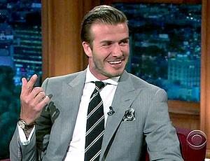 FRAME Beckham entrevista (Foto: Reprodução)