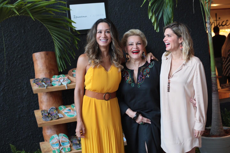 Daliana Martins, embaixadora Ipanema premium de Recife, Lilia Santos e Juliana Santos (Foto: Divulgação)