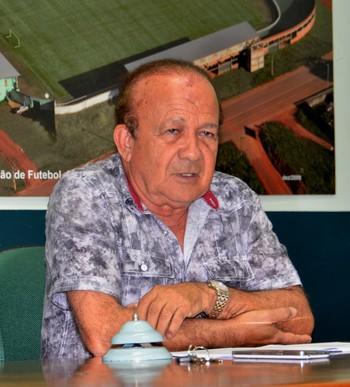 Antônio Aquino, presidente da FFAC (Foto: Nathacha Albuquerque)