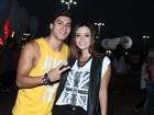 Famosos curtem primeiro dia de Rock in Rio
