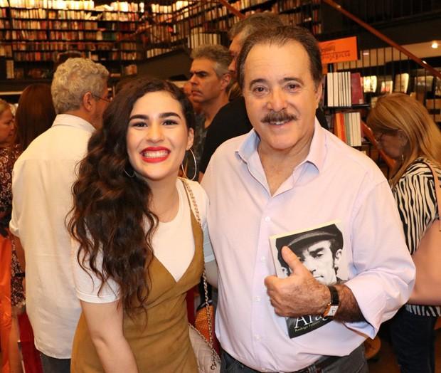 Lívian Aragão e Tony Ramos (Foto: Anderson Borde/AgNews)