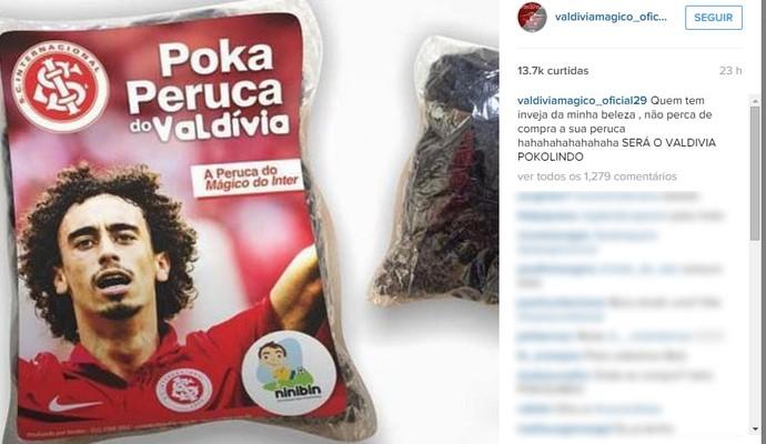 Peruca Valdívia Inter (Foto: Reprodução, Instagram)