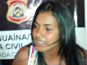 Marciana Rodrigues de Sousa  é suspeita de envolvimento com o tráfico de drogas e corrupção de menores (Foto: Divulgação/Polícia Civil)