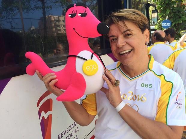 David Brazil com a Fofoca (Foto: EGO)