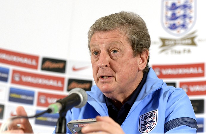 Roy Hodgson coletiva da Inglaterra (Foto: EFE)