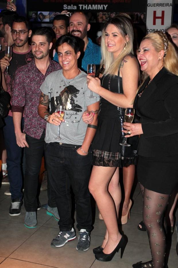 Nilcéia e Thammy Miranda (Foto: Orlando Oliveira / AgNews)