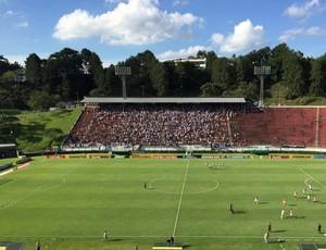 Estádio Mário Helênio - Juiz de Fora - Botafogo x Flamengo (Foto: Raphael Zarko)