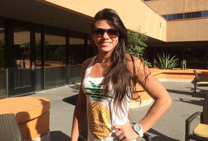 Cláudia Gadelha UFC (Foto: Ivan Raupp)