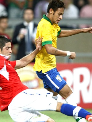 Neymar jogo Brasil Chile Mineirão (Foto: Mowa Press)
