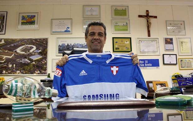 Palmeirense, prefeito não prometeria que time escaparia do rebaixamento (Foto: Cleber Akamine / globoesporte.com)