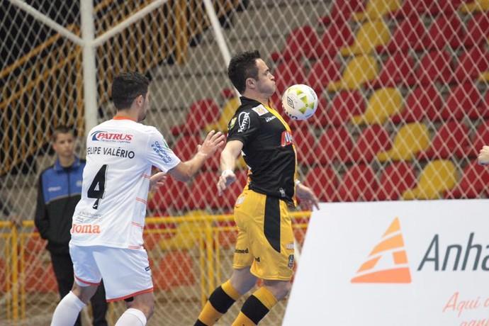 Falcão no jogo entre Sorocaba e Carlos Barbosa (Foto: Reprodução/Facebook)