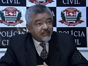 Delegado foi morto na Zona Leste de SP (Foto: Reprodução/TV Globo)