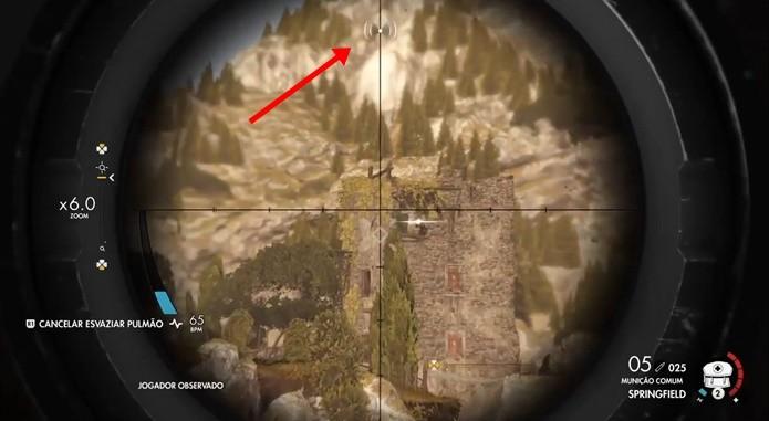 Sons do ambiente podem esconder os tiros de Sniper Elite 4 (Foto: Reprodução/Felipe Demartini)