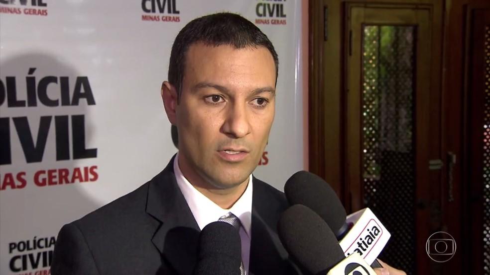 Delegado Leonardo Estevam Lopes (Foto: Reprodução/TV Globo)