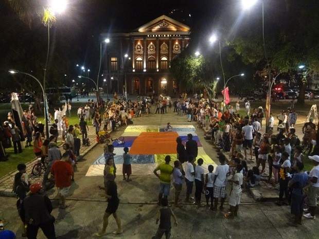 Theatro da paz (Foto: Gil Sóter/G1)