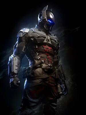 Arkham Knight, vilão inédito de Batman criado especificamente para os videogames (Foto: Divulgação/WB Games)