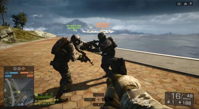 Canal do Youtube testa mitos em Battlefield 4 (Foto: Reprodução/ Youtube)